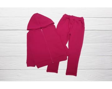 Теплый костюм для девочки   ( SKU-100-240 )