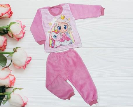 Пижама махровая. Сублимация