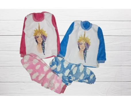 Пижама детская махровая