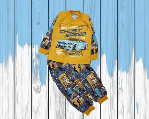 Пижама тонкая для мальчика SKU-100-180