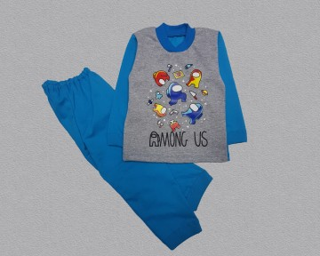 Пижама  футер для мальчика