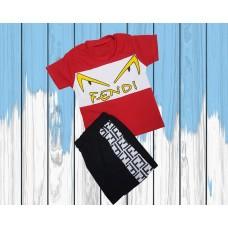 Комплект футболка и шорты SKU-100-379
