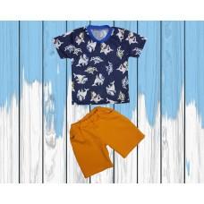 Детская футболка с шортами