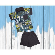 Комплект  рубашка с шортами