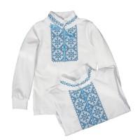 Вышиванка для мальчика (100-096)