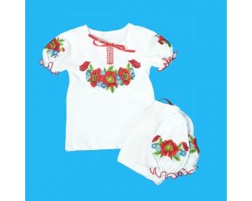 Вышиванка для девочки (100-122)
